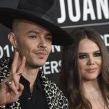 Jesse y Joy en la alfombra roja del premio Persona del Año 2019 en los Grammy Latino
