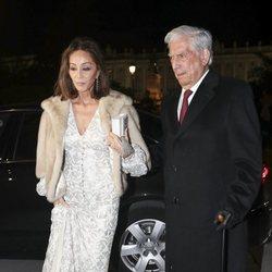 Isabel Preysler y Mario Vargas Llosa en la Gran Gala del Teatro Real 2019
