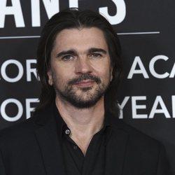 Juanes en la alfombra roja del premio Persona del Año 2019 en los Grammy Latino