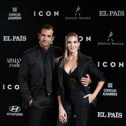 Patricia Montero y Álex Adrover en los premios Icon