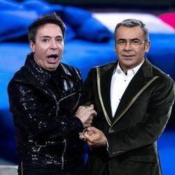 Maestro Joao y Jorge Javier Vázquez en la gala 11 de 'GH VIP 7'