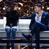 Gianmarco y la madre de Adara hablando en la gala 11 de 'GH VIP 7'