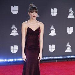 Aitana en la alfombra roja de los premios Grammy Latino 2019