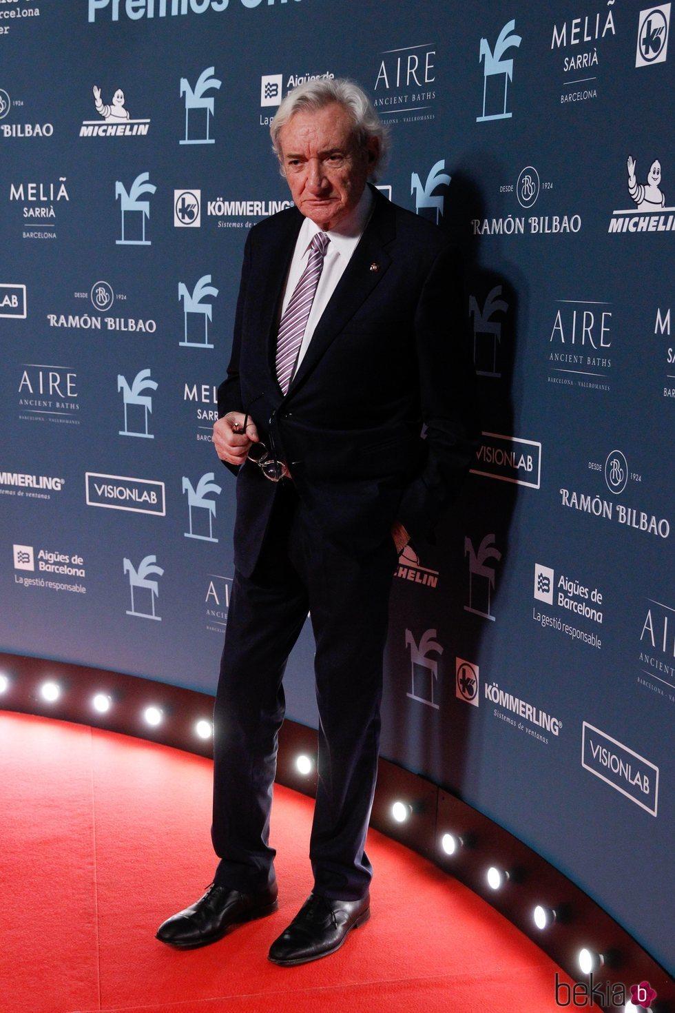 Luis del Olmo en los Premios Ondas 2019