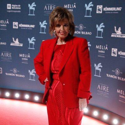 María Teresa Campos en los Premios Ondas 2019