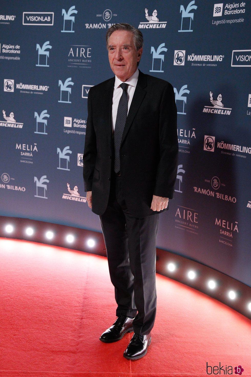 Iñaki Gabilondo en los Premios Ondas 2019