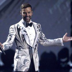 Ricky Martin presentando en la gala de los Premios Grammy Latino 2019
