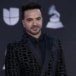 Luis Fonsi en la alfombra roja de los premios Grammy Latino 2019