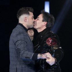 Maestro Joao se besa con Alberto en la gala 11 de 'GH VIP 7'
