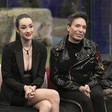 Adara y Maestro Joao, sonrientes en la gala 11 de 'GH VIP 7'