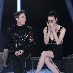 Adara llora ante la marcha de Maestro Joao en 'GH VIP 7'