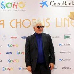 Pedro Almodovar en la apertura del teatro de Antonio Banderas, 'Teatro del Soho'