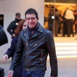 Antonio Banderas, emocionado por la apertura de su teatro en Málaga