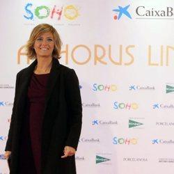 María Casado en la apertura del teatro de Antonio Banderas, 'Teatro del Soho'