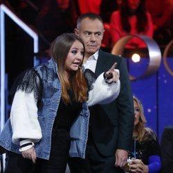 Rocío Flores Carrasco muy enfadada en el décimo debate de 'GH VIP 7'