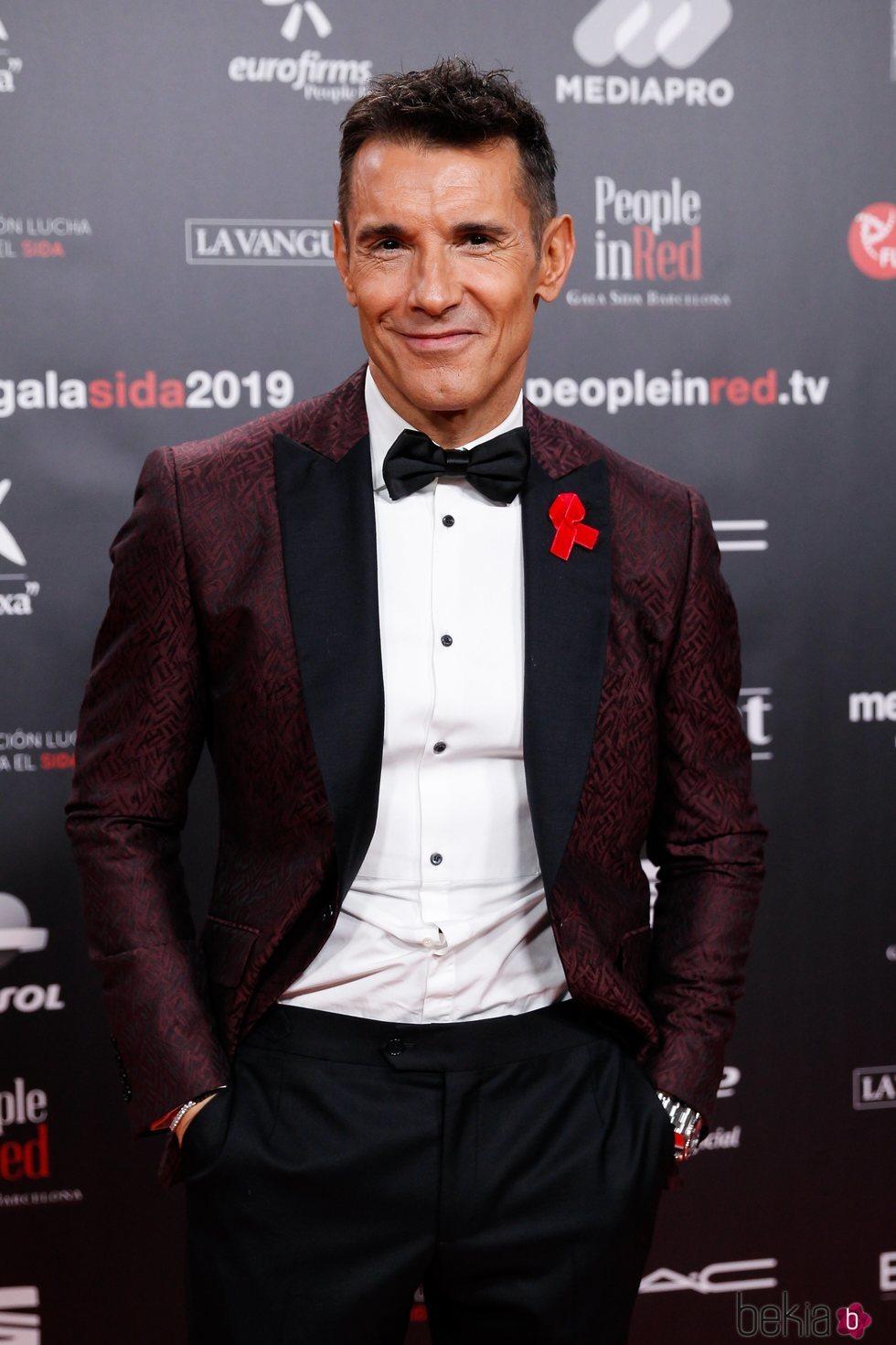 Jesús Vázquez en la gala People in Red 2019