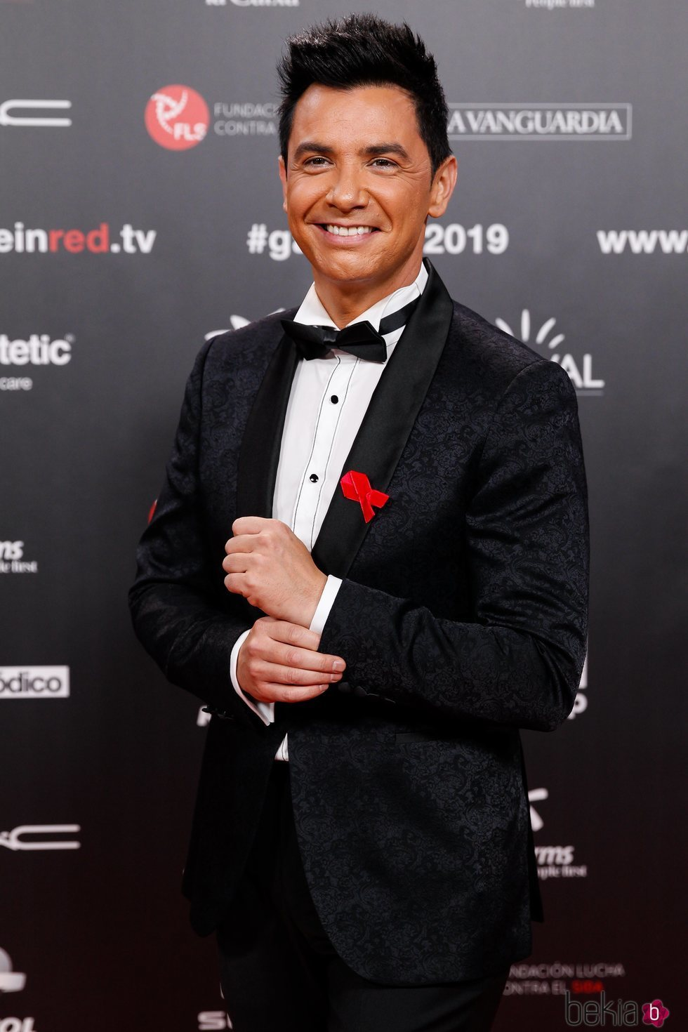 David Civera en la gala People in Red 2019