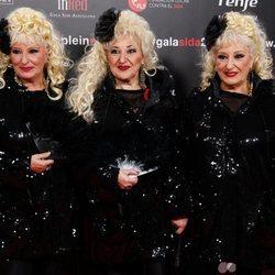 Las Supremas de Móstoles en la gala People in Red 2019
