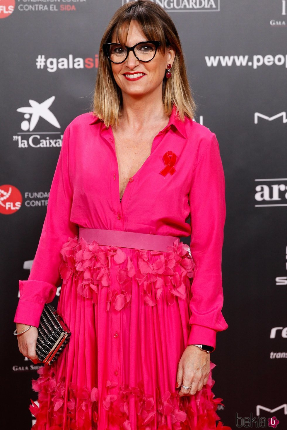 Noemí Galera en la gala People in Red 2019