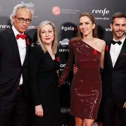 Bonaventura Clotet, Anna Fresquet, Aina y Marc Clotet en la gala People in Red 2019