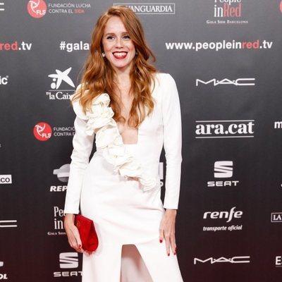 María Castro en la gala People in Red 2019