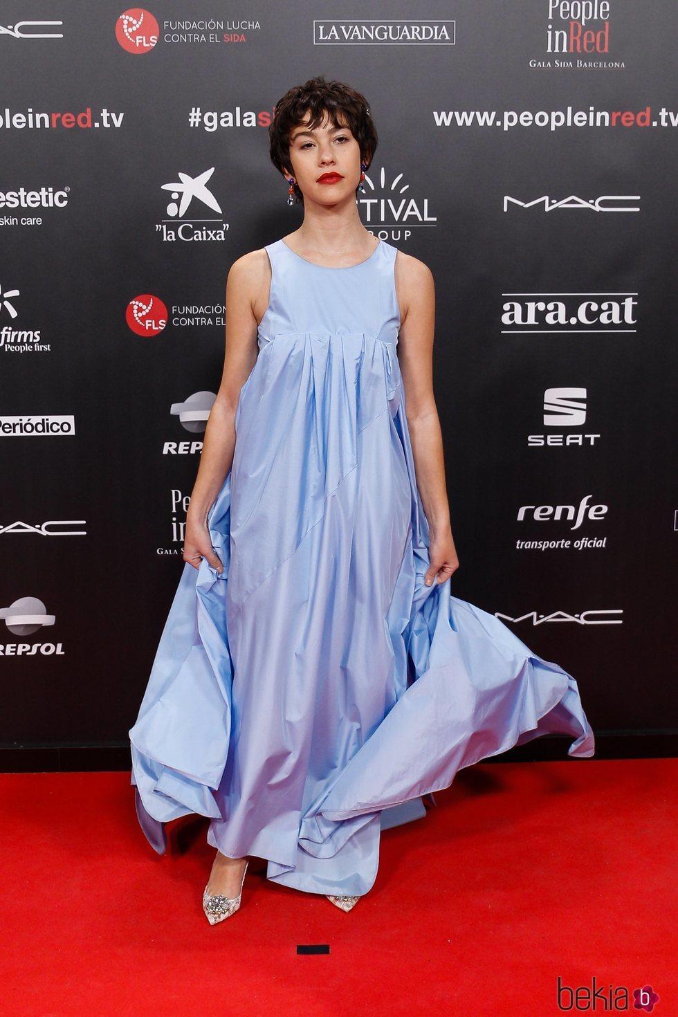 Greta Fernández en la gala People in Red 2019