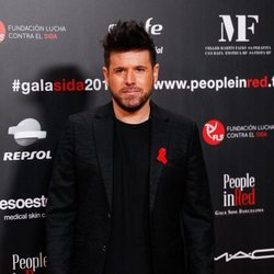 Pablo López en la gala People in Red 2019