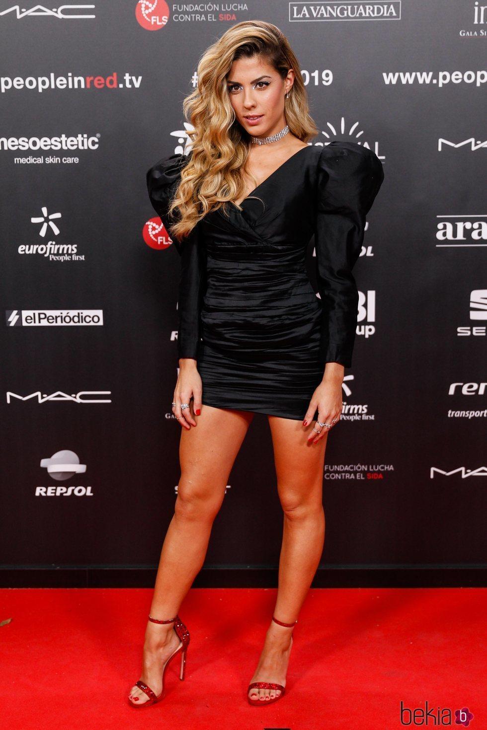 Miriam Rodríguez en la gala People in Red 2019