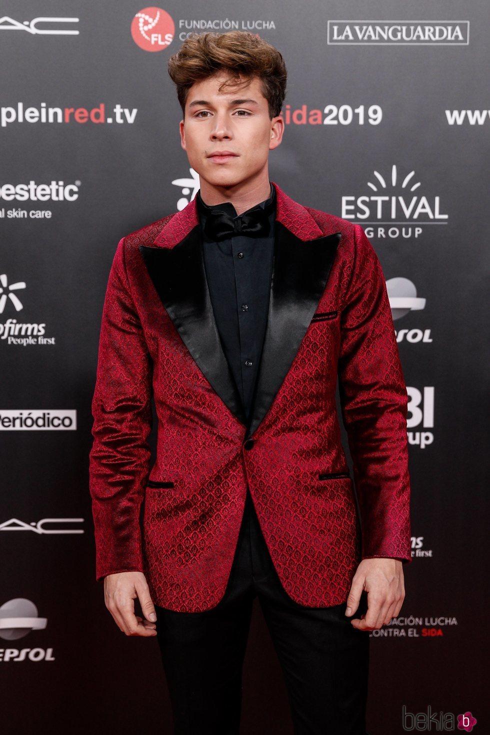 Raoul Vázquez en la gala People in Red 2019