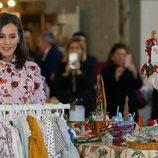 La Reina Letizia en el Rastrillo Nuevo Futuro 2019