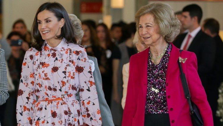 La Reina Letizia y la Reina Sofía en el Rastrillo Nuevo Futuro 2019