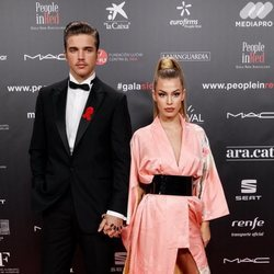 River Viiperi y Jessica Goicoechea en la gala People in Red 2019