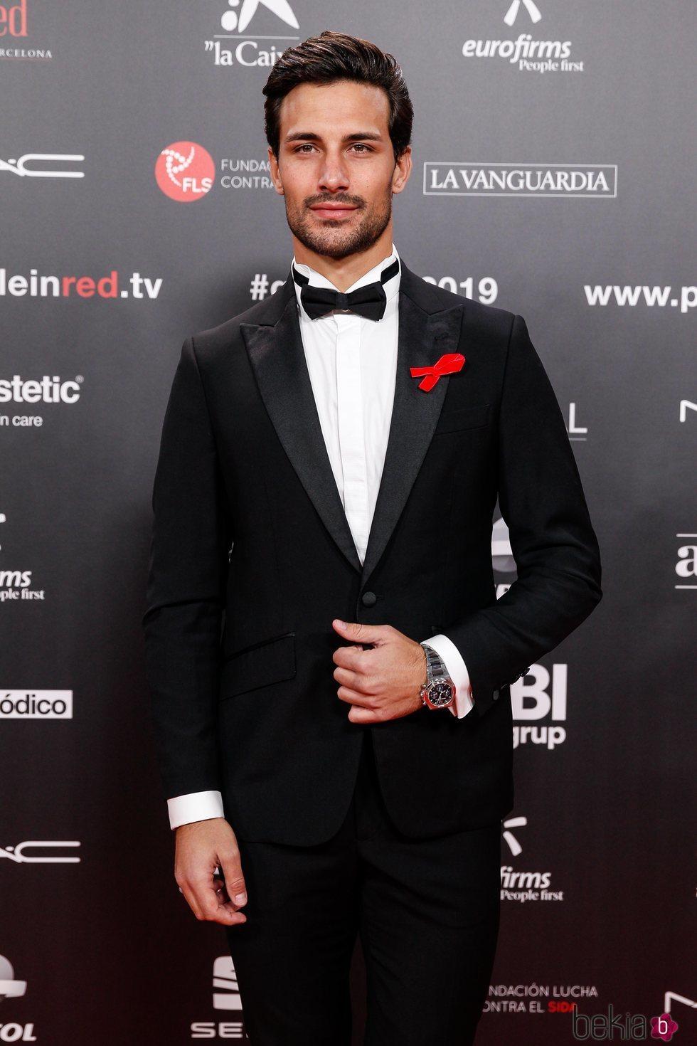Jaime Astrain en la gala People in Red 2019