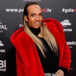 Aless Gibaja en la gala People in Red 2019