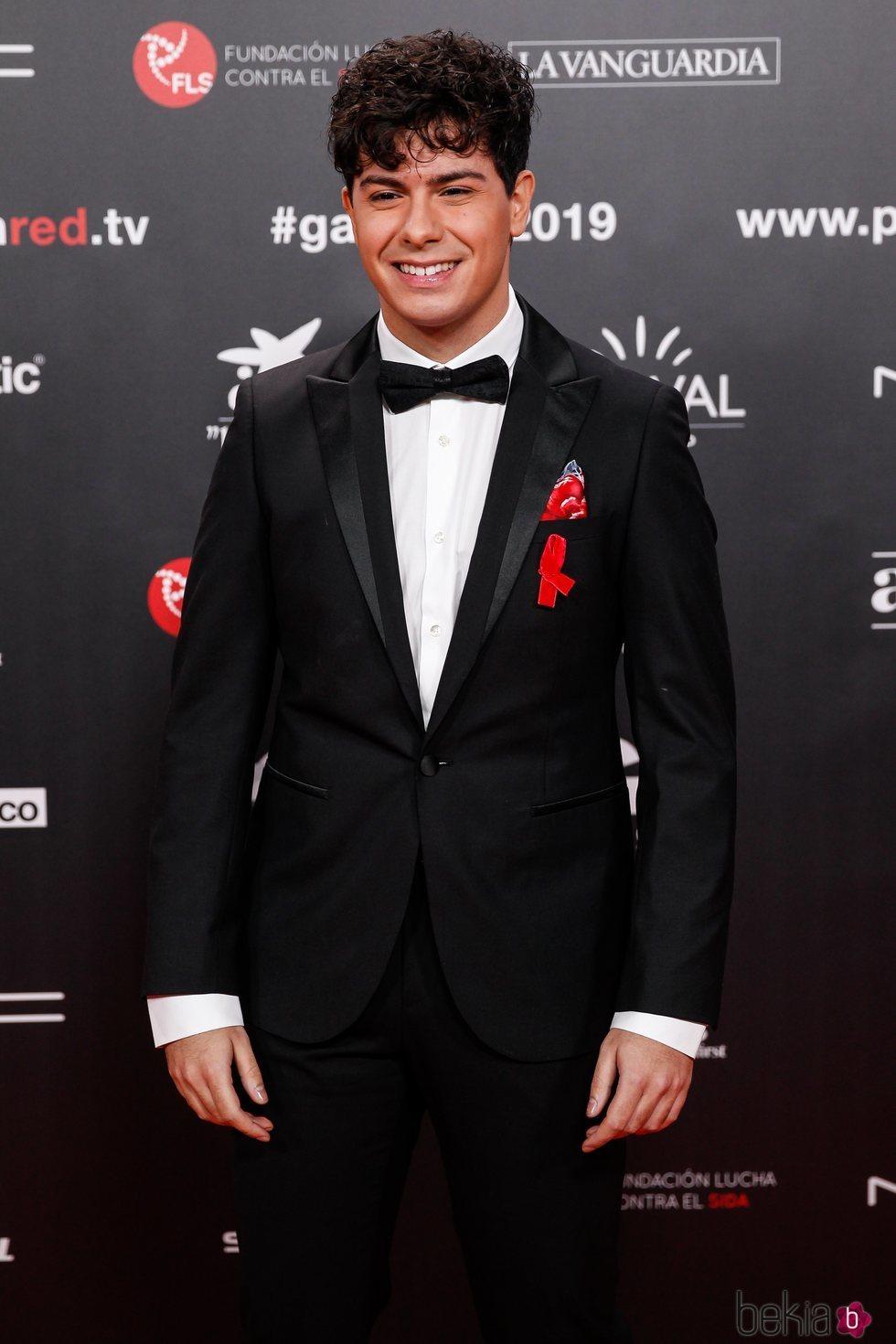 Alfred García en la gala People in Red 2019