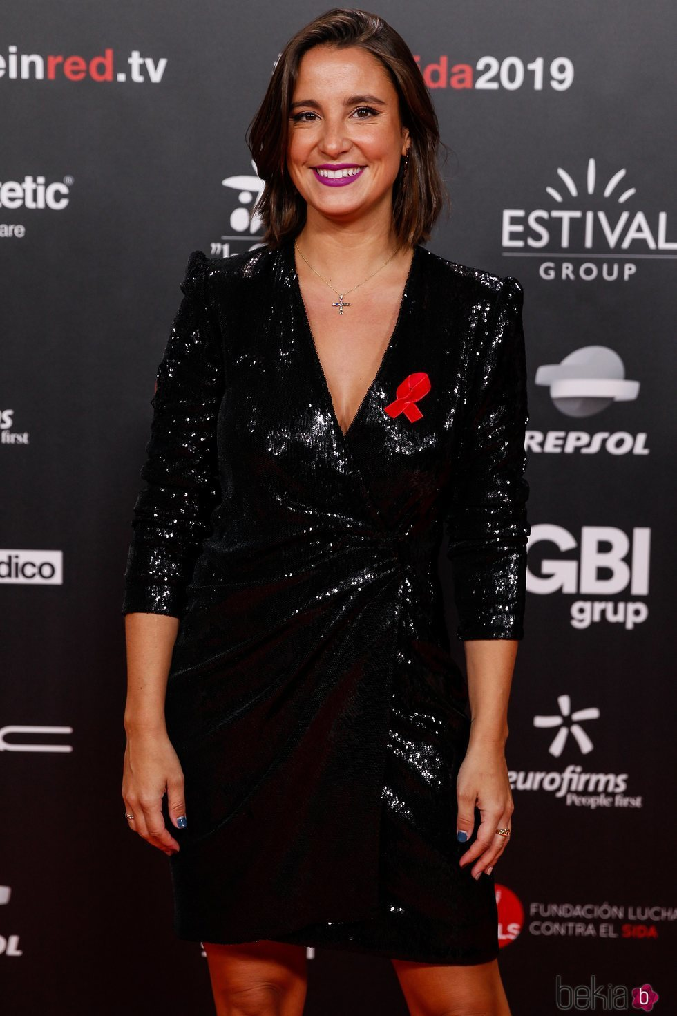 Marta Pombo en la gala People in Red 2019