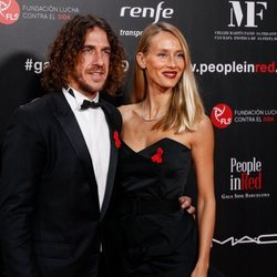 Carles Puyol y Vanesa Lorenzo en la gala People in Red 2019