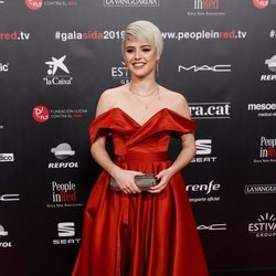 Alba Reche en la gala People in Red 2019