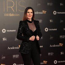 Diana Navarro en la alfombra roja de los Premios Iris 2019
