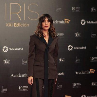 Belén Cuesta en la alfombra roja de los Premios Iris 2019