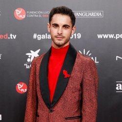 David Solans en la gala People in Red 2019