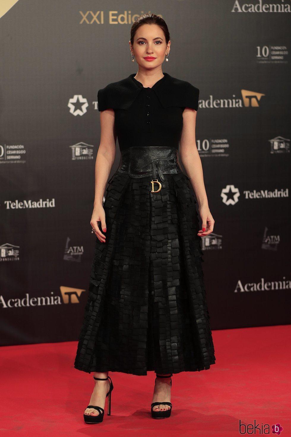 Ivana Vaquero en la alfombra roja de los Premios Iris 2019