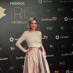 Mireia Montávez en la alfombra roja de los Premios Iris 2019