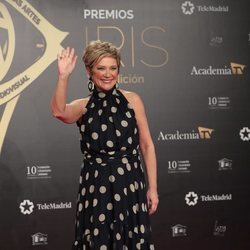 Inés Ballester en la alfombra roja de los Premios Iris 2019