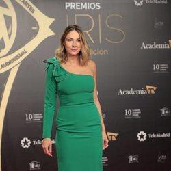 Paloma Bloyd en la alfombra roja en los Premios Iris 2019