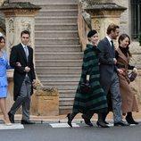 Pierre Casiraghi, Beatrice Borromeo, Alexandra de Hannover, Louis Ducruet y Marie Chevallier en el Día Nacional de Mónaco 2019