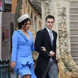 Louis Ducruet y Marie Chevallier en el Día Nacional de Mónaco 2019
