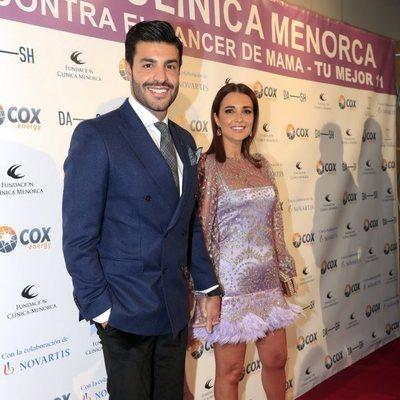 Paula Echevarría y Miguel Torres en una Gala Solidaria contra el cáncer de mama
