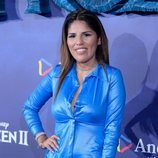 Chabelita Pantoja en el estreno de 'Frozen 2'