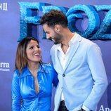 Chabelita Pantoja y Asraf Beno muy cómplices en el estreno de 'Frozen 2'